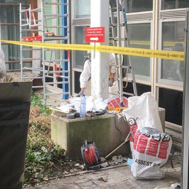 Asbestsanering in een ziekenhuis thumbnail
